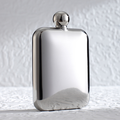 Shipping PAIRES stainless steel flagon flagon size portable men carry creative birthday gift for men