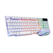 Keyboard and mouse computer desktop USB cable light gaming mouse mechanical hand