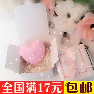 韩版迷你手工香皂创意结婚婚庆婚礼小礼物礼盒包装浪漫可爱小肥皂