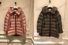 France bought 2018 autumn and winter Mongolian MONCLER down jacket female long sleeve hooded SUYEN