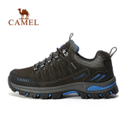 Camel outdoor hiking shoes men and women non-slip wear-resistant breathable hiking shoes casual light sports hiking shoes autumn and winter
