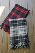 British Department of simple cashmere wool blend scarf dual-use thick fashion color long women