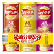 Lay' s/ chips three tank 104g*3 tank unlimited pleasure leisure puffed snacks