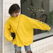 2017 new students in spring and autumn Harajuku ulzzang BF Korea all-match thin hole loose sweater female tide