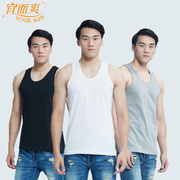 3 pieces of thin cotton vest vest appropriate and great men in the old old summer cotton loose sweater