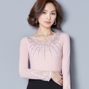 The new 2017 autumn outfit big yards embroidery lace collar joker show thin lace collar gauze render unlined upper garment unlined upper garment frock