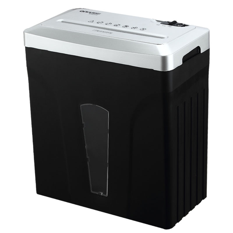White portable home office manual shredder