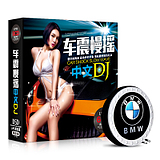 Car CD-ROM CD-ROM 2017 pop bar world's best DJ song mix non-destructive vinyl record