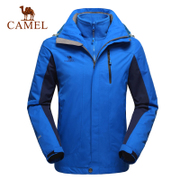 Hot selling 310 thousand camel outdoor assault suit men and women of three to one or two pieces of fleece velvet warm clothing