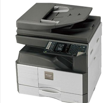 SHARP 2048N copier, AR-2048N copier, black and white double entry writer / network printing / scanning color