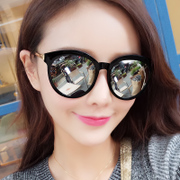 2017 new sunglasses, women, South Korea, sunglasses, round face and personality of the tide of the stars of the same section of the sun with the sun glasses