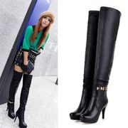 2013 new winter boots and high-heeled Knee Boots long canister boots shoes size 40-43