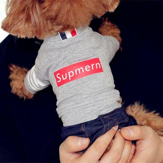 Shipping summer dog ultra-thin sportswear pet clothes Tactic clothes four clothes dog Bichon pomeranian