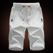 The summer male sports shorts in summer five loose beach pants breeches seven men summer pants tide