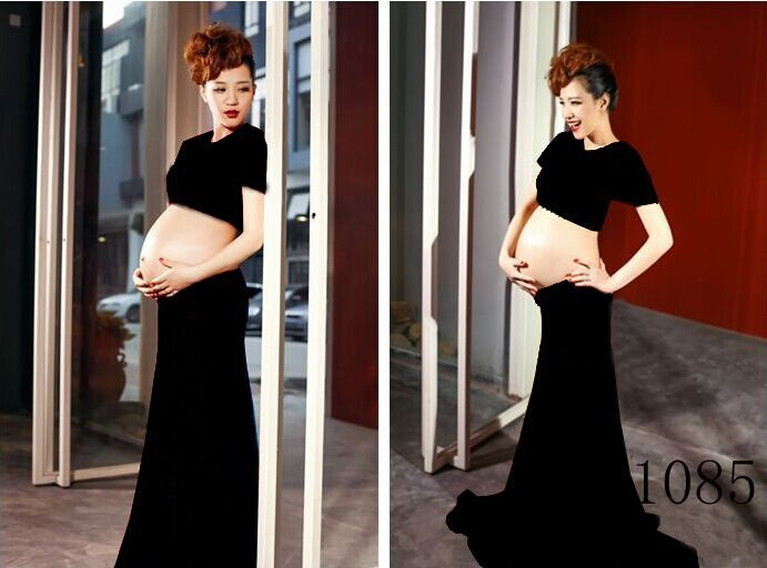 Pregnant women, xinmi dress baring studio maternity vogue of new fund of 2015 autumn fashion pregnancy mommy photo wholesale