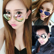 2017 new sunglasses sunglasses men face South Korea lady tide star personality trendsetter eye