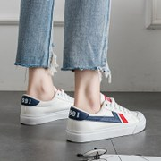 2017 summer new canvas shoes ulzzang shoes Korean female student Harajuku Street white shoe all-match shoes