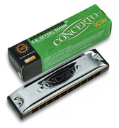 SEYDEL CONCERTO said Germany artikujt European purchasing ten hole octave harmonica Bruce