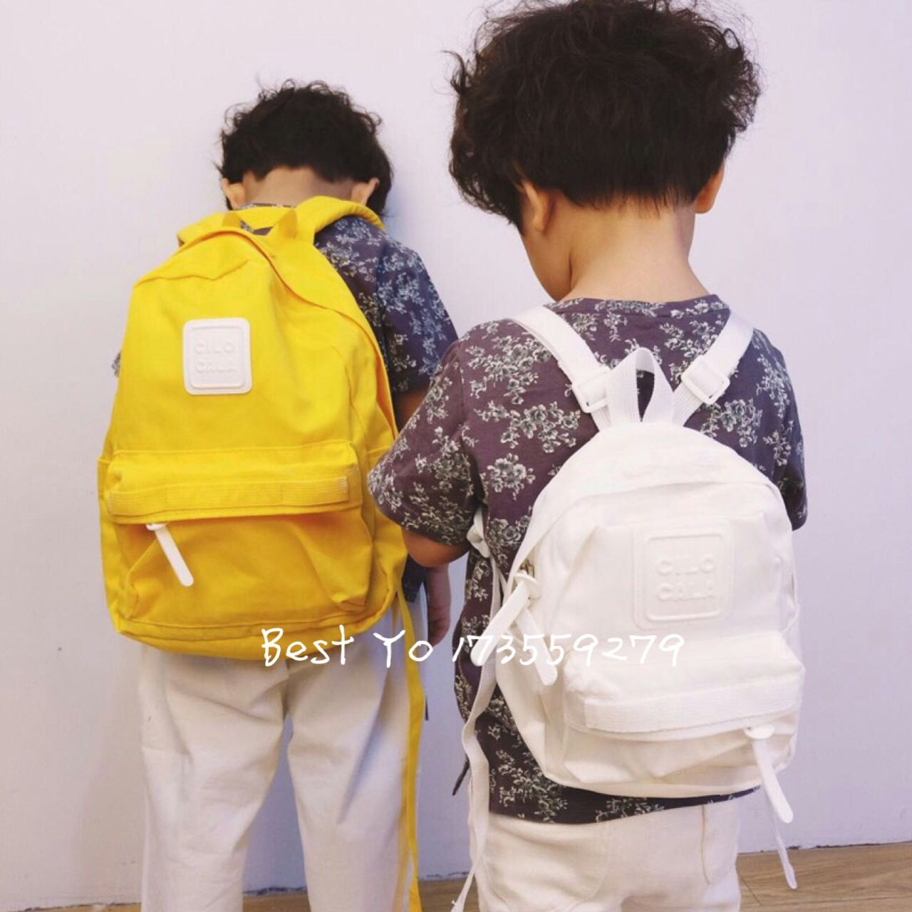 Best Yo export to Japan kindergarten Japanese style Kawai anti lost parent-child Backpack