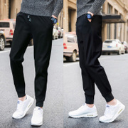 Summer sports pants thin camouflage casual loose nine points in the summer of men Haren long pants slim feet