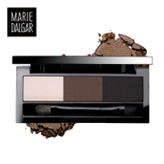 Mary de Jia impression actress three color eyebrow waterproof anti sweat shadow stereo makeup 1zk47a thrush