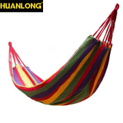 Dragon outdoor single double hammock cotton canvas thickening hammock camping swing dormitory summer indoor hammock