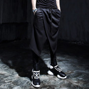 Diablo Two Boots pants Gothic culottes hair stylist casual pants feet Harlan Pants Night Shop Stage