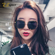 2017, the new network of Red Sunglasses, female tide star sunglasses, long face, GM polarized glasses, fashion personality eyes