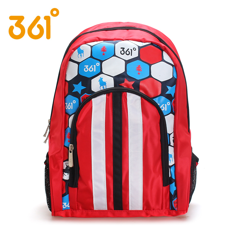 The boys and girls wear 361 pupil Bag Backpack K1351013 litzi