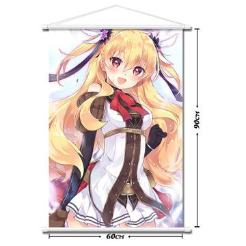 亚丽莎骑兵_闪之轨迹 亚丽莎 动漫挂画超大海报动漫周边布画定做1472