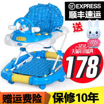 Foldable two-way can sit can lie down baby infant stroller 包邮