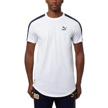 Puma PUMA/ Mens t-shirt tee logo net version of American leisure 574189-02