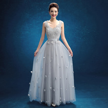 Hot spring 2017 bride bridal gown, wedding dress, women fashion, slim slim