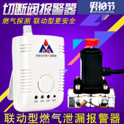 Gas natural gas alarm gas alarm combustible gas household kitchen detection leakage cut-off solenoid valve