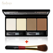 SABAS bronzing powder Powder Bronzer powder high nose shadow silhouette 20g repair Yan makeup Light & pen stick