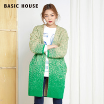 Basic House a basic House casual women fashion long knit cardigan sweater for fall winter HPKT720K