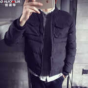 The new winter cotton short male youth Winter cotton padded jacket slim Korean winter coat thick students