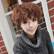 Ethereal female hair short hair fluffy wig freaky Xia Bing with new fashion temperament