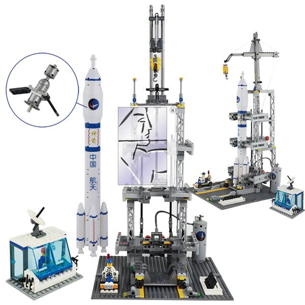 Scenes, air blocks, city airports, groups, space rockets, children's models, toys