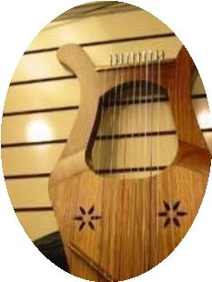 Keno Greek lyre Harp
