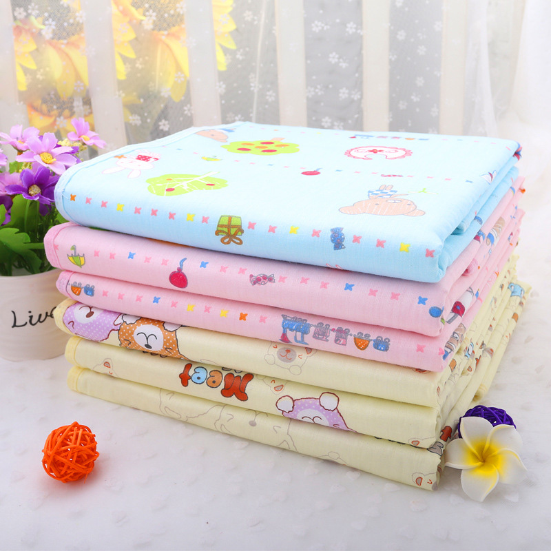 Newborn baby Crystal velvet double sided waterproof, soft, washable, small diaper, baby diapers, mattress supplies