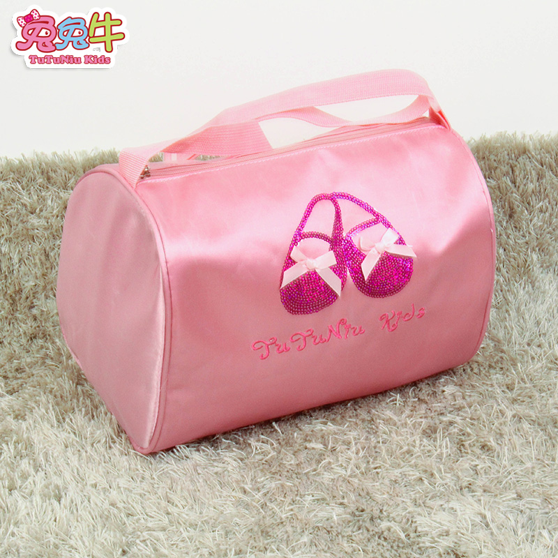 The girl child girls students clothes shoes Bag Satchel Tote Bag Dance Costume