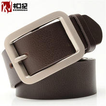 The high-end custom buckle 2017 new leather belt men Ji all-match lap belt buckle fashion leisure