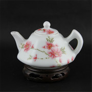 Here water points/huairentang peach teapot tea pot old factory warehouse of Jingdezhen domestic ornaments collection