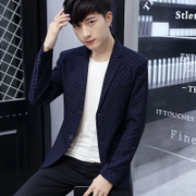 Spring and autumn of the new men's casual fashion casual suit jacket Korean young men's suit small short single