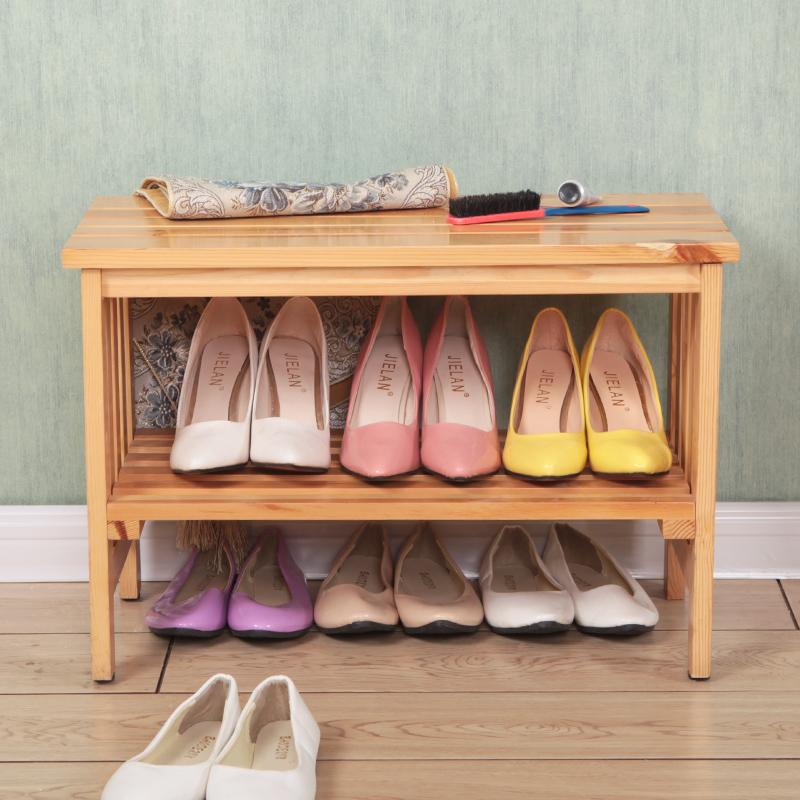 全实木换鞋凳储物收纳凳多功能玄关门口简约鞋柜鞋架穿鞋凳子包邮