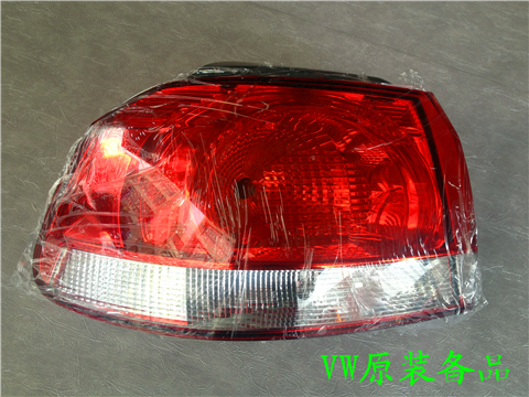 Volkswagen golf 6 tail lamp The rear brake lamp lights High six tail lights inside and outside assembly factory star grace