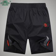 Sports shorts running fitness sports pants summer breathable quick dry shorts loose size five pants training pants