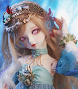 BJD doll 1/4 Soom Serin &amp Rico Mermaid SD doll