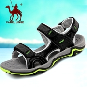 Armored camel sandals men Beach Leather shoes 2017 summer new tide men casual shoes slip wear sandals